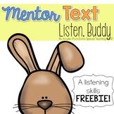 Listen Buddy - A Listening Skills FREEBIE