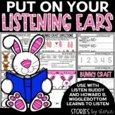 Listen Buddy & Howard B. Wigglebottom Learns to Listen Book Companion & Craft