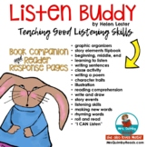 Listen Buddy   by Helen Lester   Book Companion   Graphic Organizers