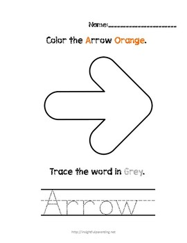 Listen, Color, and Trace: Letter A