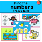 Counting to ten bundle   Numbers 0 to 10 Boom cards