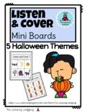 Listen & Cover Mini Boards: Halloween
