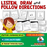 Listening Activity | Listen, Draw, Follow Directions | Lit