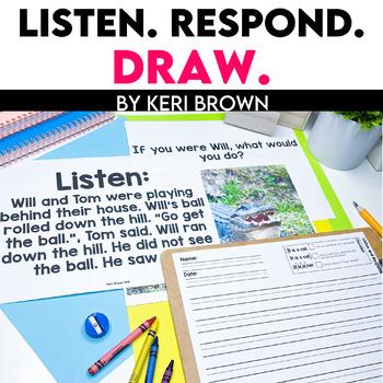 Listen. Draw. Respond.