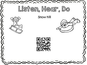 Listen, Hear, Do - Winter Hill Fun - Following directions