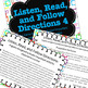 Listen, Read, Follow Directions Fun Game builds critical academic skills  #4