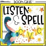 Listen, Spell, and Match CVC Words