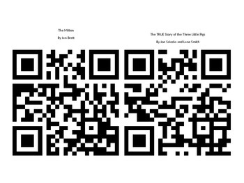 Listen To Reading and Sing Along QR Codes