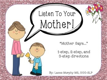 100 Follower FREEBIE - Listen To Your Mother!: 1, 2, & 3 Step-Directions
