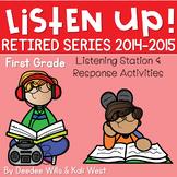 Listening Center RETIRED: Listen UP!  2014 - 2015 FIRST GRADE BUNDLE