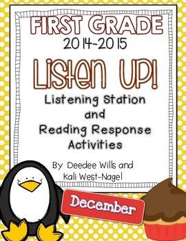 Listen UP!  2014- 2015 FIRST GRADE DEC Listening Station/R