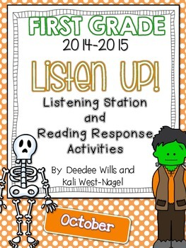 Listen UP!  2014- 2015 FIRST GRADE OCT Listening Station/R