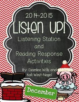 Listen UP! 2014- 2015 KINDERGARTEN DEC Listening Station/R