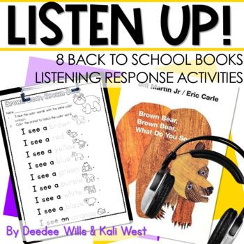 Listening Center: Listen UP!  Back to School