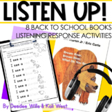 Listening Center: Listen UP!  Back to School