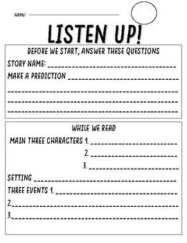 Listen Up! Activity