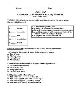 Listen Up!: Alexander Graham Bell's Talking Machine CCG