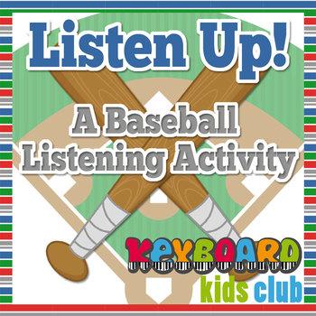 Listen Up! Baseball Music Listening Activity With Open Response