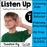 Listening Activities for Common Core~ Listen Up Set 1