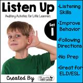 Listening Activities for Common Core~ Listen Up Set 1