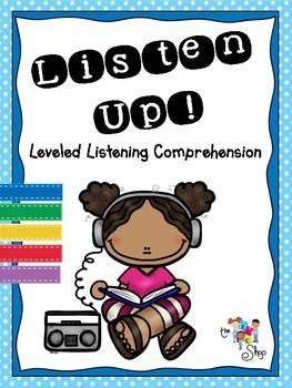 Listen Up! - Leveled Listening Comprehension Tasks
