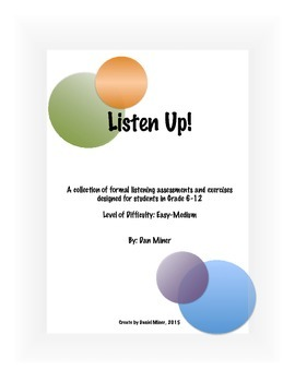 Listen Up!-  Listening Activities and Exercises (Bundle)
