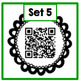 Listen and Color - A QR Code Auditory/Written Language Activity