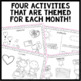 Listen and Color February: A Listening Comprehension Activ