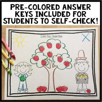 Listen and Color September: A Listening Comprehension Activity/Assessment