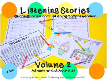 Listening Stories Volume 2: Adventures