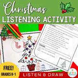 Listen and Do - Christmas Freebie!