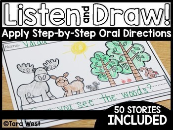 Listen and Draw (Apply and Follow Step-by-Step Oral Directions)