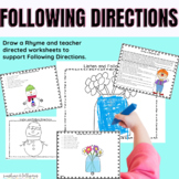 Following Directions Activities for K-1