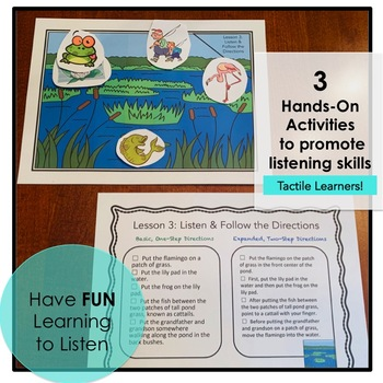 Listen and Follow the Directions: Fun Activities to Promote Listening Skills