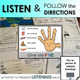 Listen and Follow the Directions: Fun Activities to Promot