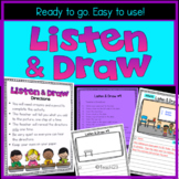 Listen and  Draw Following Verbal Directions