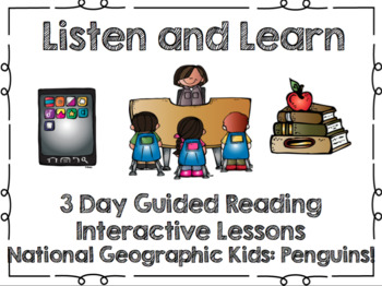 Listen and Learn Activities-National Geographic Penguins!