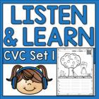 Listen and Learn QR Code Activities {Short Vowels)