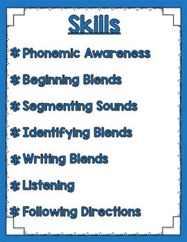 Listen and Learn Activities {Beginning Blends)