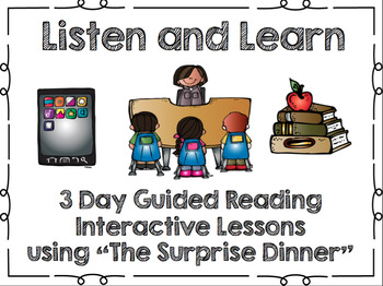 Listen and Learn Activities-The Surprise Dinner