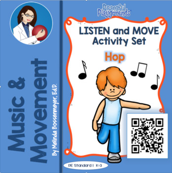 Listen and Move Activity Set : Movement Posters