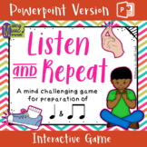 Listen and Repeat - CS Unit 1 Rote - Interactive Game