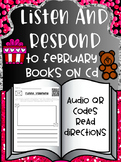 Listen and Respond Center with Audio QR Codes