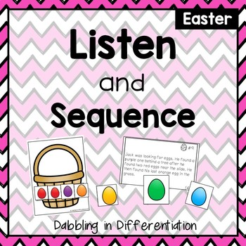 Listen and Sequence Easter