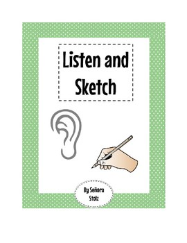 Listen and Sketch: C4 Listen and Draw for Comprehension