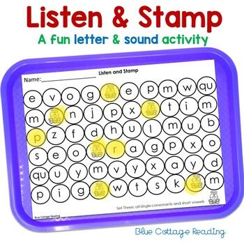 Consonant Sound Review Teaching Resources Teachers Pay Teachers