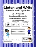 Phonics Listen and Write Blends & Digraphs Book 3 - Phonemic Awareness