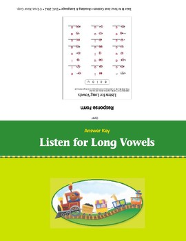 Listen for Long Vowels (Take It to Your Seat Centers)