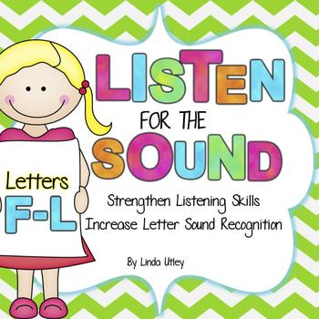 Letter Recognition and Letter Sound Recognition - Letters F-L