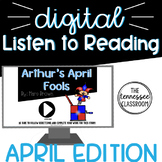 Listen to Reading Digital Center: April